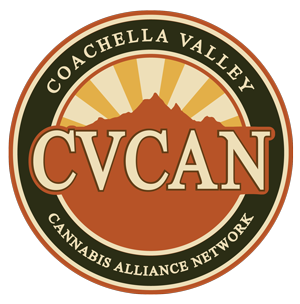 Coachella Valley Cannabis Alliance Network logo