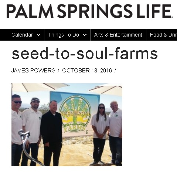 Seed to Soul Farms Palm Springs