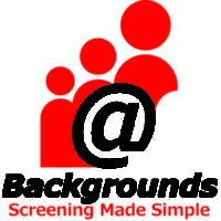 @Backgrounds Screening Services Logo