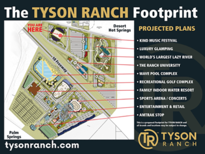 Plans to build Tyson Ranch resort in Desert Hot Springs are heating up, city says